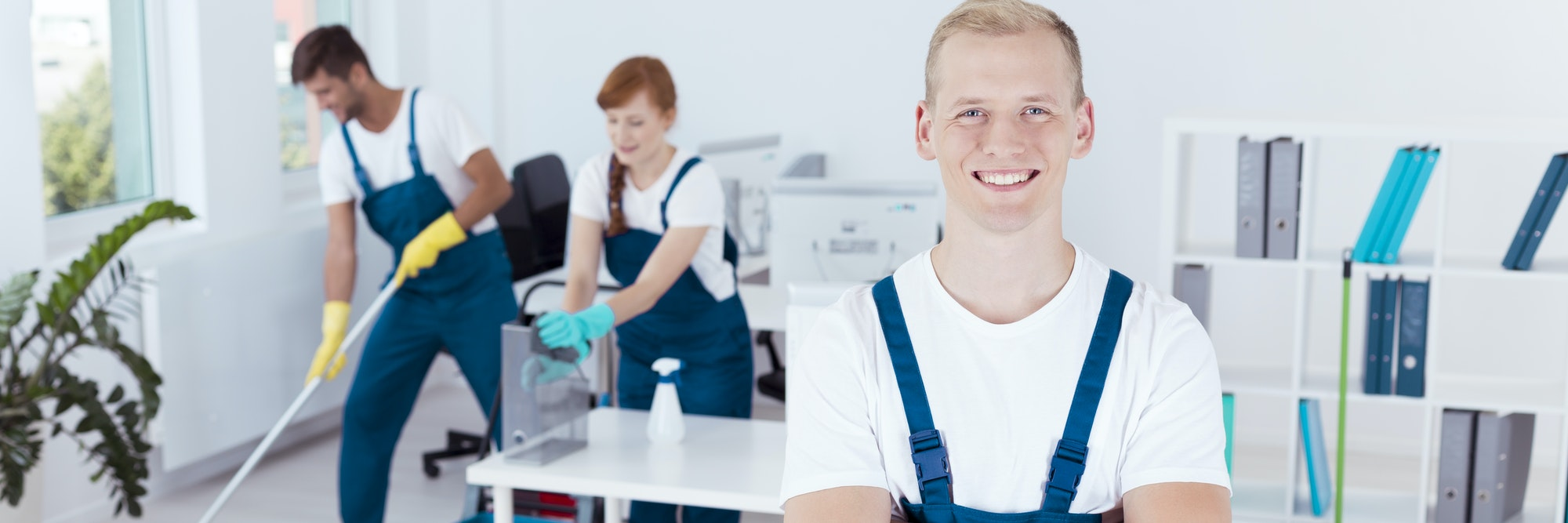 Cooperation in cleaning offices
